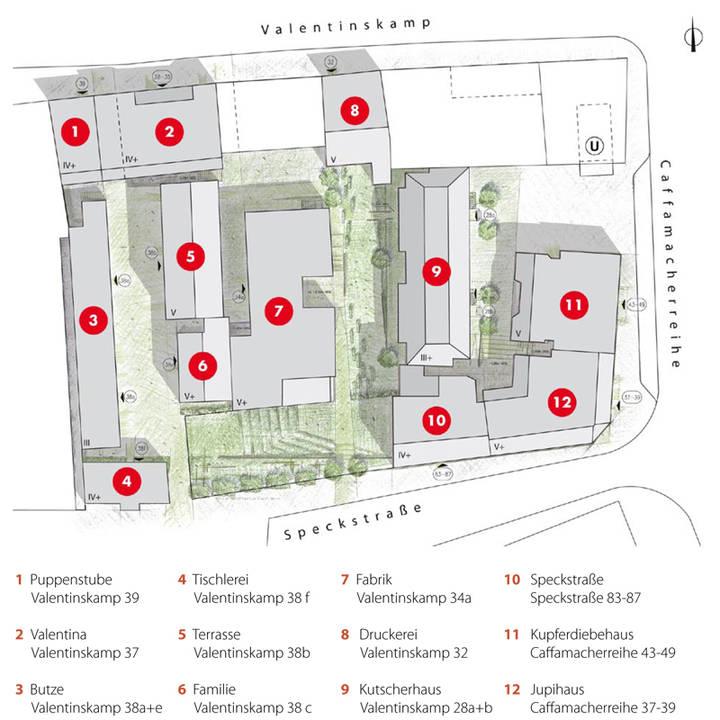 Tischlerei werkstatt grundriss  Porträts der Häuser